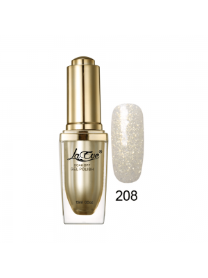 LaEve Deluxe Soak Off Nail Gel Polish 15 Ml (0.5 Oz) 208