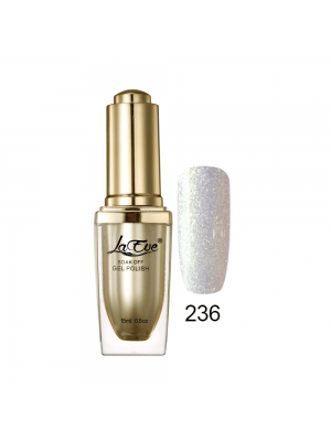 LaEve Deluxe Soak Off Nail Gel Polish 15 Ml (0.5 Oz) 236