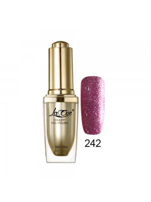 LaEve Deluxe Soak Off Nail Gel Polish 15 Ml (0.5 Oz) 242